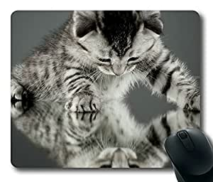 Strange Way To See The Things Cat Masterpiece Limited Design Oblong Mouse Pad by Cases & Mousepads