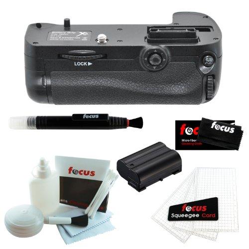 XiT Pro series Multi-Power Battery Grip For Nikon D7100 + Replacement EN-EL15 Battery + Accessory Kit