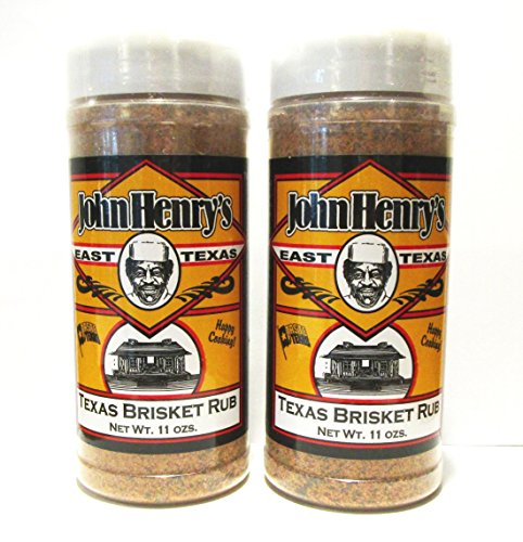 John Henry's Texas Brisket Rub BBQ Seasoning (2 Pack)