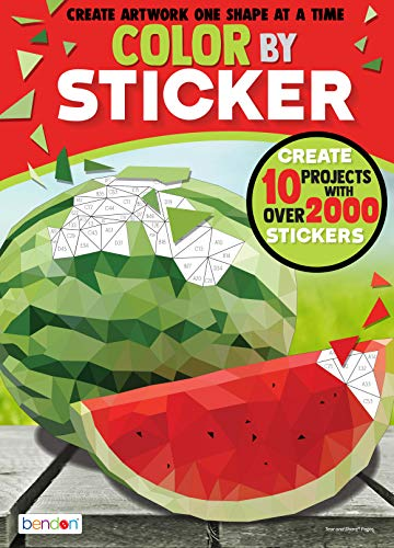 Easy Arts And Crafts For Kids (Bendon 44092 Food Advanced Color by Sticker Book,)