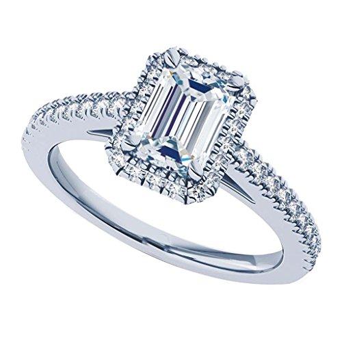 1.16 Ct Emerald Cut Diamond - 1