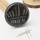 30pcs Assorted Hand Sewing Needles Embroidery Mending Quilt Repair