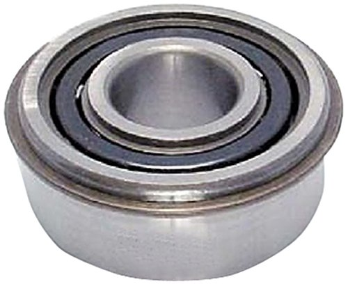 Peer Bearing 6207-ZZD-NR-C3 6200 Series Radial Bearings, C3 Fit, 35 mm ID, 72 mm OD, 17 mm Width, Double Shield with Snap Ring