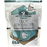 Betsy Farms Natural Jerky Recipe Dog Treats - Duck Jerky Dog Treats, 28 oz