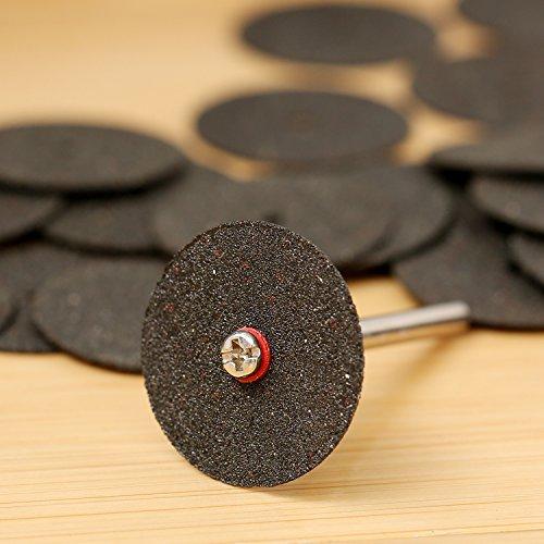 36 Pcs 24mm Disques de pon/çage des m/étaux rotatif /à tron/çonner renforc/é Disque Diamant /à Tron/çonner Mini Disque de Coupe Roue de coupe