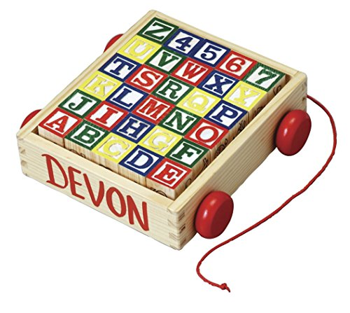 Fox Block (Fox Valley Traders Personalized Wooden Blocks and Cart)