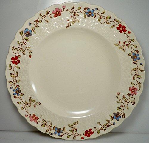Spode Wicker Dale Dinner Plate 10 1/2