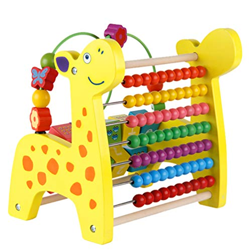 - Multifunction Xylophone Toy, Hand Knocking Piano Counting Beads Graphic Digital Cognition Block 3 in 1 Fawn Children'S Educational Toys