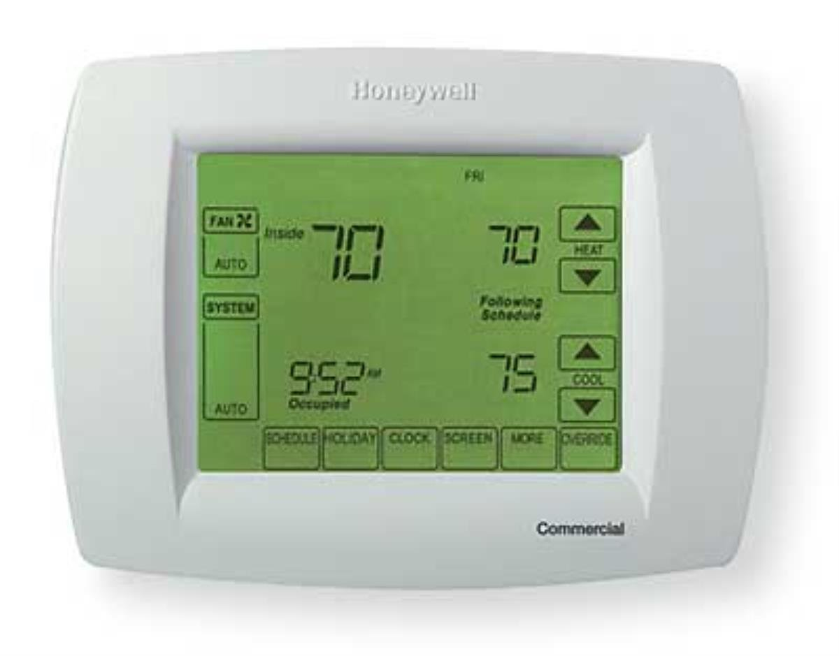 Honeywell Th114 Af Ga Line Volt Non Programmable Electronic Wiring Guide For Domestic Heating Systems By Free Download Thermostat Electric Floor Applications With 5 Ma Built In Gfci And Sensor