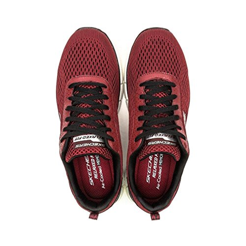 2 Score Rouge Equalizer nbsp;Settle Sneakers Homme Skechers 0 Basses The X651xpqA