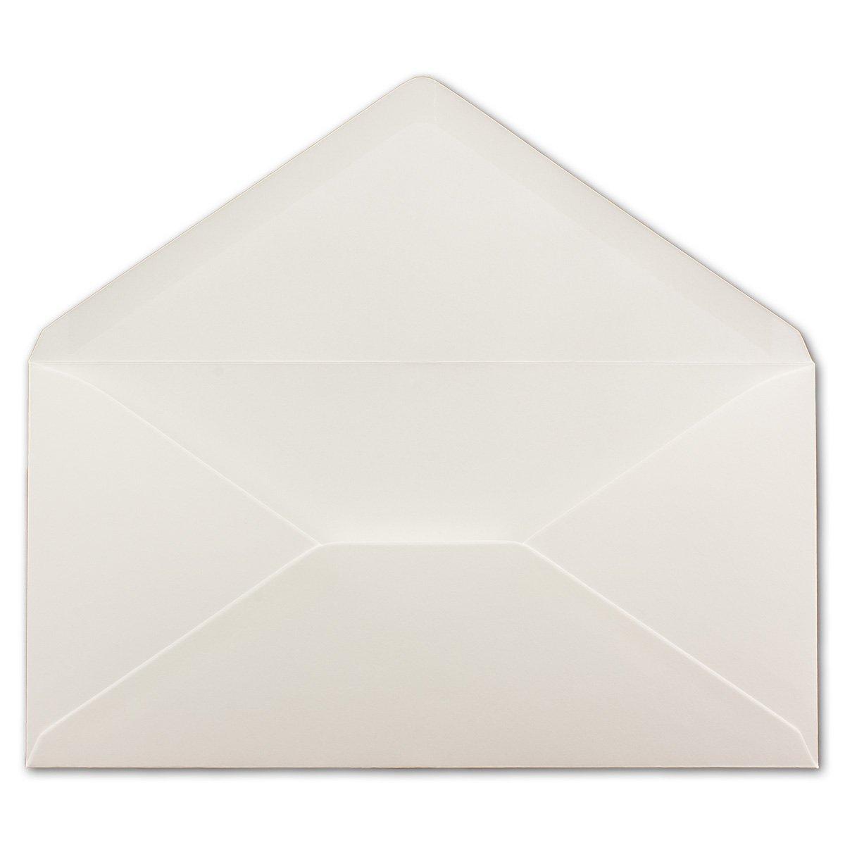 250 Brief-Umschläge Bronze Metallic DIN Lang - 110 x x x 220 mm (11 x 22 cm) - Nassklebung ohne Fenster - Ideal für Einladungs-Karten - Serie FarbenFroh® B076SB93C5 | Hohe Sicherheit  c75353