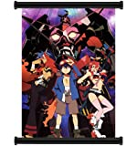 "Gurren Lagann Anime Fabric Wall Scroll Poster (16"" x 22"") Inches"