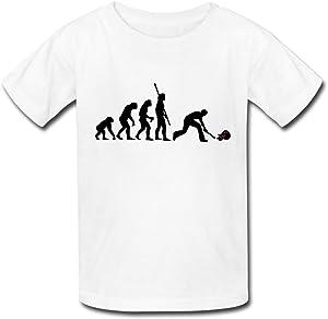 Youth Evolution Smashing Guitar Kids T-Shirt White