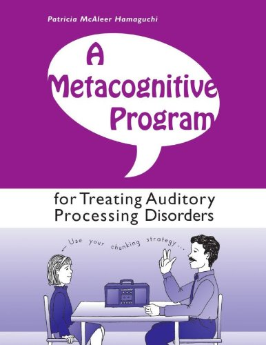 Amazon.com : Pro-Ed A Metacognitive Program for Treating Auditory ...
