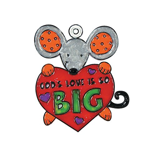 God's Love Is So Big Suncatcher