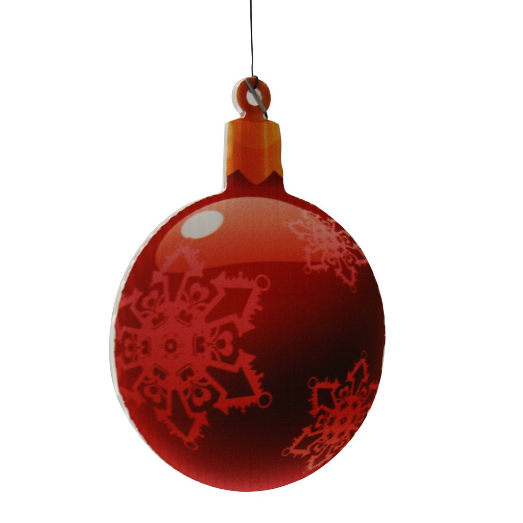 Amazon: Christmas Yard Decorations  Traditional Hanging Christmas  Ornaments (flat Globe Shape): Home & Kitchen