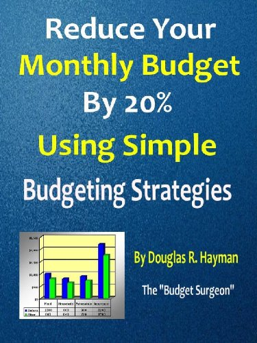 amazon com reduce your monthly budget by 20 using simple budgeting
