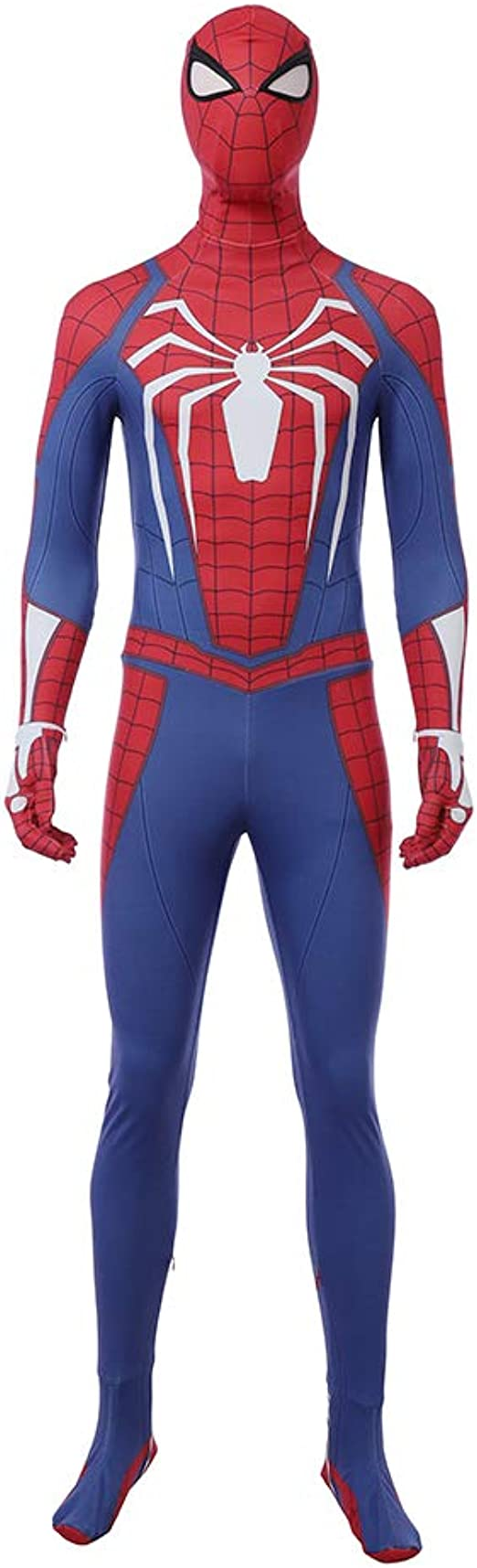 Spider-Man Suit PS4 Classic Spiderman Cosplay Costume For Adult//Kids