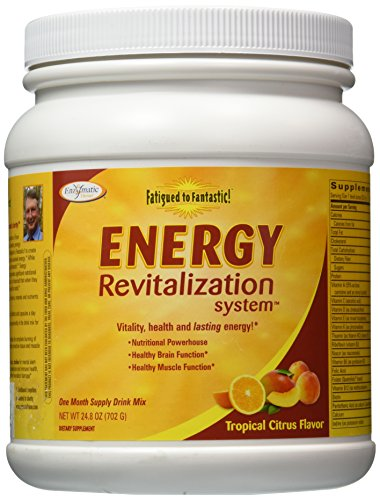 Enzymatic Fatigued To Fantastic Energy Energy Revitalization, Tropical Citrus Delight Flavor, 24.8-Ounces