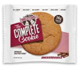 Lenny & Larry's The Complete Cookie, Snickerdoodle, 4-Ounce Vegan Cookies (Pack of 12)