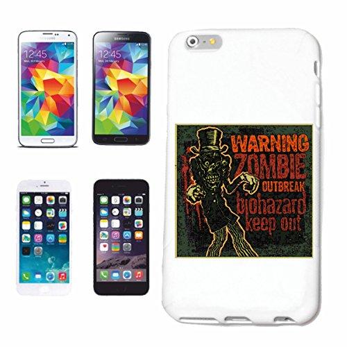 """cas de téléphone iPhone 7+ Plus """"ZOMBIE OUTBREAK BIOHAZARD GARDER HORS BIKER SHIRT MARCHE ZOMBIE MOTO CLUB DEAD GOTHIC CHOPPER DIXON BAND SHIRT"""" Hard Case Cover Téléphone Covers Smart Cover pour Apple"""
