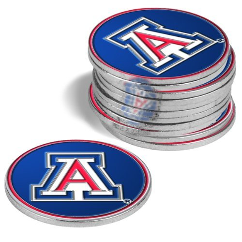 Arizona Wildcats Golf Ball Markers ( 4 Pack )   B00DOPWHRM