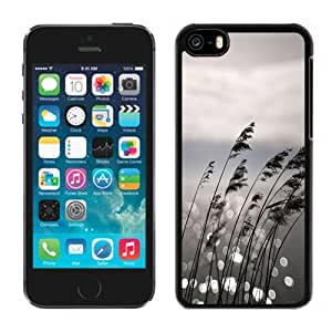 Beautiful Custom Designed Cover Case For iPhone 5C With Grayscale Landscape Phone Case Kimberly Kurzendoerfer