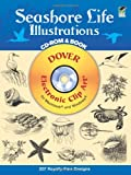 Seashore Life Illustrations, Dover Staff, 0486995313