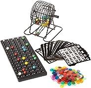 Royal Bingo Supplies Deluxe 6-Inch Bingo Game with Colored Balls, 300 Bingo Chips and 50 Bingo Cards