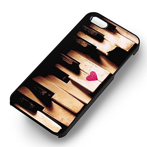 Vintage Piano Tuts for Cover Iphone 6 and Cover Iphone 6s Case (Black Hardplastic Case) B5O7FW