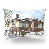 Society6 A Bungalow In The Country Pillow Sham Standard (20'' x 26'') Set of 2