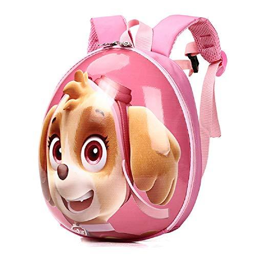 - PAW Patrol 3D Cute Cartoon surface Waterproof Toddler Preschool Backpack Schoolbag for Kids Carry Bag(skye)