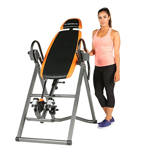 Exerpeutic 275SL Inversion Table with the Ultra Safe SURELOCK Ratchet Ankle Locking System