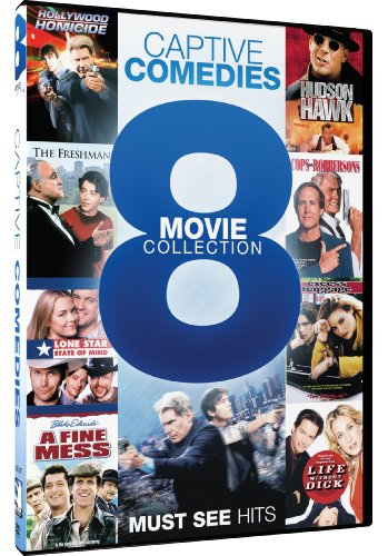 Captive Comedies: 8 Movie Collection (Hollywood Homicide/Hudson Hawk/The - Chevy Chase Dvd Collection