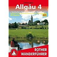 Allgäu 4: Sonthofen - Füssen - Kempten - Kaufbeuren. 50 Touren. Mit GPS-Tracks.