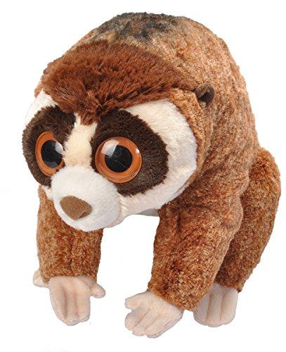 Lemur Animal Monkey - Wild Republic Slow Loris Plush, Stuffed Animal, Plush Toy, Gifts for Kids, Cuddlekins 12