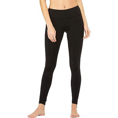 Alo Yoga Womens Luminous Legging, Black, L