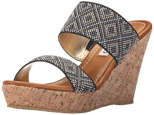 2 Lips Too Women Too Hazel Wedge Sandal Black