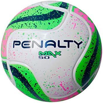 35bbce7377127 Bola Futsal Max 50 Term VII Penalty - Branco Verde Rosa  Amazon.com ...
