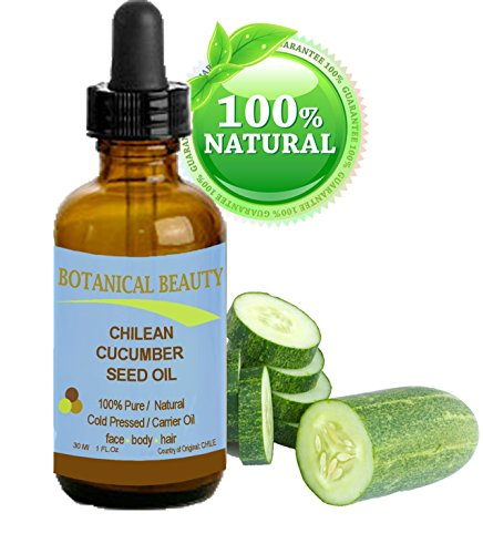 (CHILEAN CUCUMBER SEED Carrier Oil. 100% Pure / Natural / Undiluted. Cold Pressed. Skin Care. (1 fl. oz -30 ml.) by Botanical Beauty)