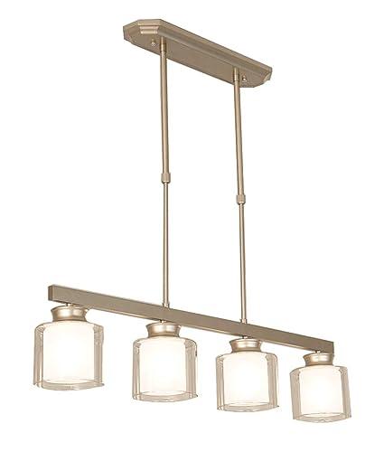 4 Lámparas De Luz Modernas Lámparas De Techo De Dos Capas ...