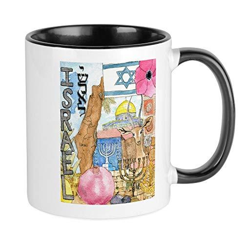 CafePress Israel, Mugs Unique Coffee Mug, Coffee Cup