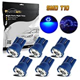 99 yukon dash board - Partsam T10 194 2825 LED Light Bulb 168 LED Bulbs Bright Instrument Panel Gauge Cluster Dashboard LED Light Bulbs Set 6Pcs-Blue