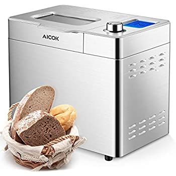 Amazon.com: Automatic Bread Maker[2018 Upgraded], Aicok 2.2 ...