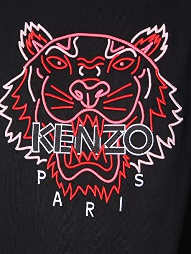 Algodon Kenzo Negro Sudadera Mujer F952sw7854xf99 77BpwqRCt
