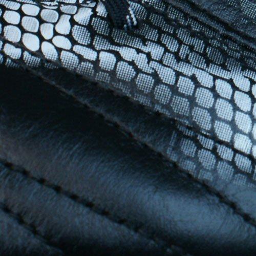 adidas F50 Adizero Firm Ground (Leather) - zapatillas de fútbol de piel hombre negro - core black/silver met./silver met.