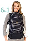 SIX-Position, 360° Ergonomic Baby & Child Carrier by LILLEbaby - The COMPLETE Original (Spot on Black)