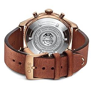 Oris Carl Latón Cronógrafo Edición Limitada Bronce Reloj 01 771 7744 3185-Set LS 4