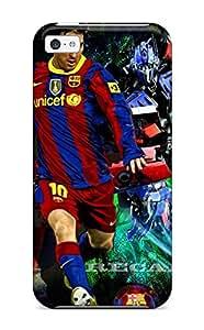 AmandaMichaelFazio Case Cover For Iphone 5c - Retailer Packaging Lionel Messi Desktop Background Protective Case