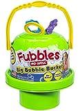 Little Kids Fubbles No Spill Big Bubble Bucket, Green